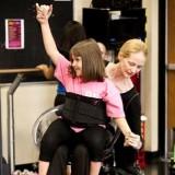 Nace una silla de ruedas para volver a bailar